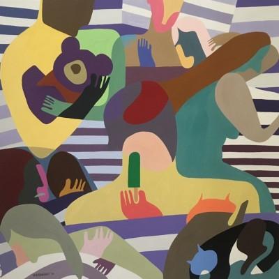 Painting by Melanie Eberhardt
