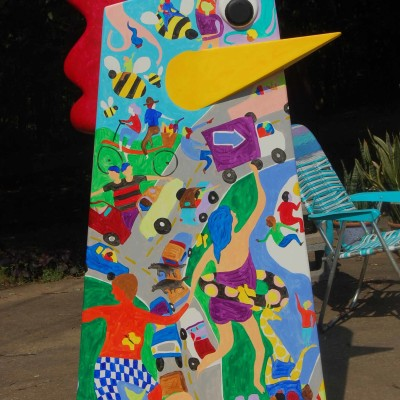 PUBLIC ART Big Chicken Marietta